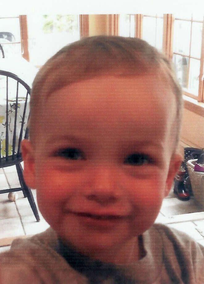 Declan Leo Cooney, 23 months old, died Friday, June 6, from injuries he sustained after being hit by a car in his driveway. Photo: Contributed Photo, Contributed / New Canaan News Contributed