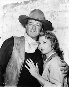 'The Sons of Katie Elder' - John Wayne stars as the eldest of four Elder brothers who reunite in Texas to bury their mother and investigate the death of their father. But a meddling sheriff and a rival gang have other plans for the brothers, and soon the air is thick with lead. Available Sept. 19.  Photo: Archive Photos, Getty Images / 2012 Getty Images