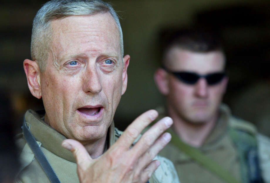 Gen. James Mattis, USMC (Ret) A possible Secretary of Defense in the upcoming Trump administration Photo: Associated Press File Photo / AP