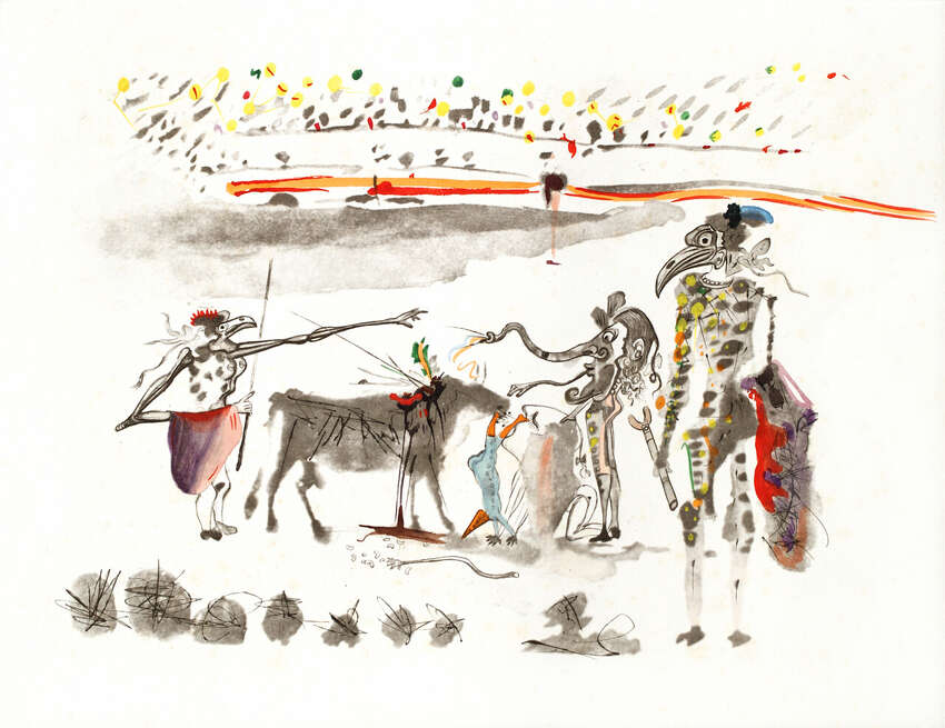 The Russell Collection is bringing artwork from The Spanish Masters, Pablo Picasso, Joan Miro and Salvador Dali, to La Cantera in San Antonio, Texas, Aug. 1-10, 2014.