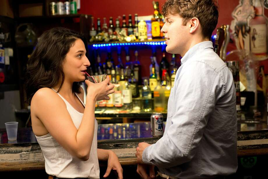 "Jenny Slate plays Donna and Jake Lacy is Max, a new man in her life,  in ""Obvious Child."" Photo: A24"