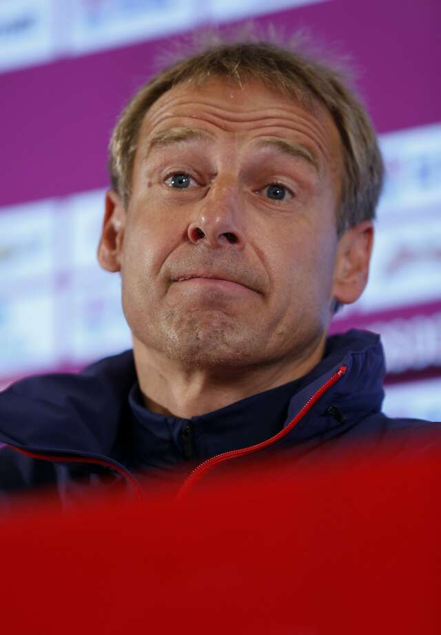 Jurgen Klinsmann says the U.S. isn't ready to win a World Cup. Photo: Julio Cortez, Associated Press