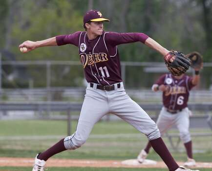 Texas  Justin Peters Junior   Righthanded pitcher   High school: Deer Park   Peters spent his freshman season at Weatherford College and redshirted at UT in 2013. Photo: Kim Christensen, For The Chronicle