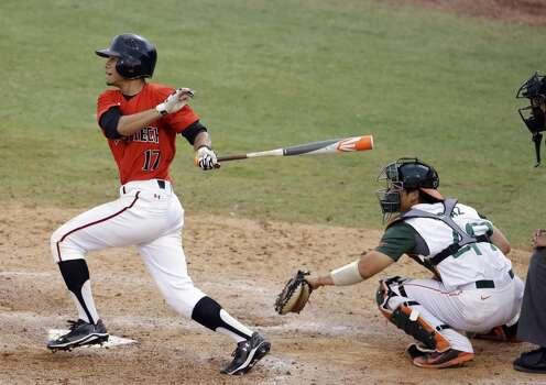 Texas Tech  Zach Davis Sophomore  Outfielder  High school: Cypress Lakes  Davis hit .367 in 30 at-bats this season, driving in 18 runs. Photo: Lynne Sladky, Associated Press