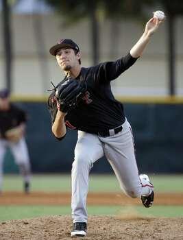 Texas Tech  Dylan Dusek Freshman  Lefthanded pitcher  High school: Kempner  Dusek is 8-0 with a 1.94 ERA in 74 1/3 innings. Photo: Lynne Sladky, Associated Press