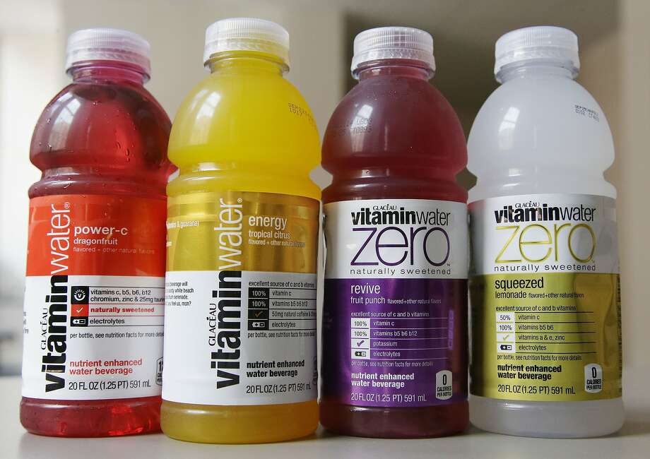 Vitaminwater fans want maker Coca-Cola to drop a new formula using stevia, a low-calorie sweetener. Photo: Stephan Savoia, Associated Press