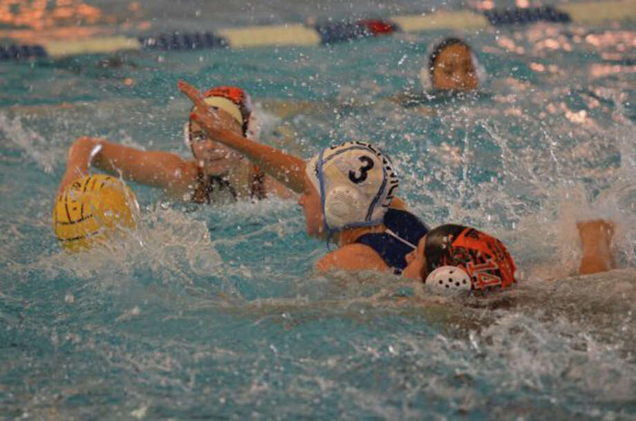 Julie Merrill, #3, in 14U Girls action Photo: Contributed Photo / Greenwich Time Contributed