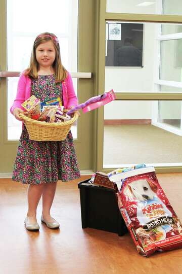 Kylee Church, 8, of Schodack raised more than $200 for the Columbia-Greene Humane Society/SPCA from