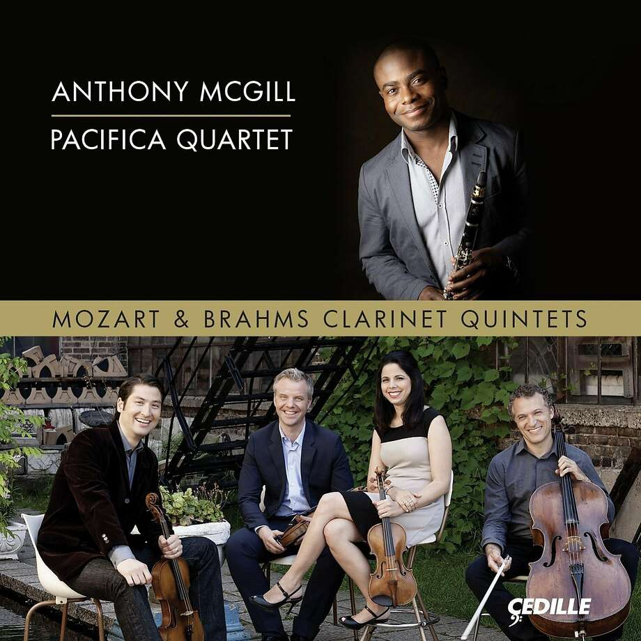 CD cover: Anthony McGill/Pacifica Quartet Photo: Çedille Records