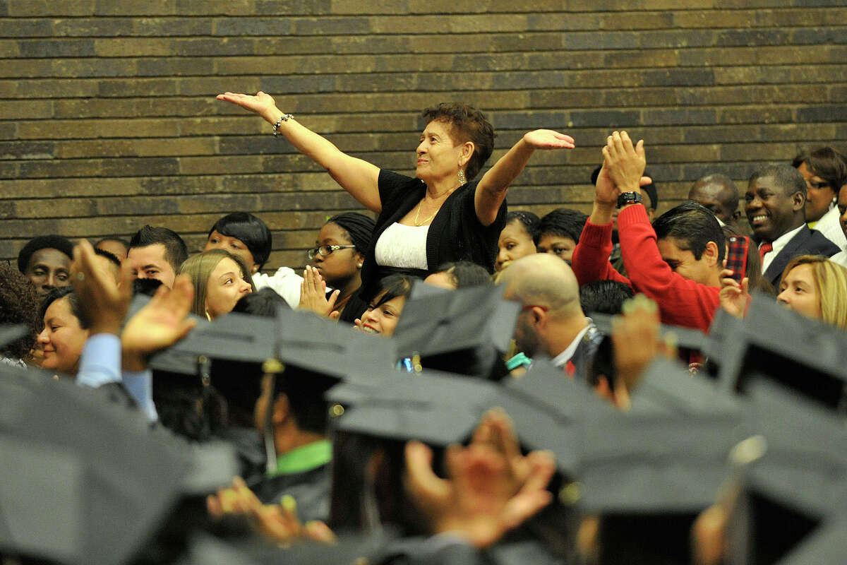 Scenes from the Stamford Public Schools Adult and Continuing Education graduation at Cloonan Middle School in Stamford, Conn., on Wednesday, June 11, 2014.