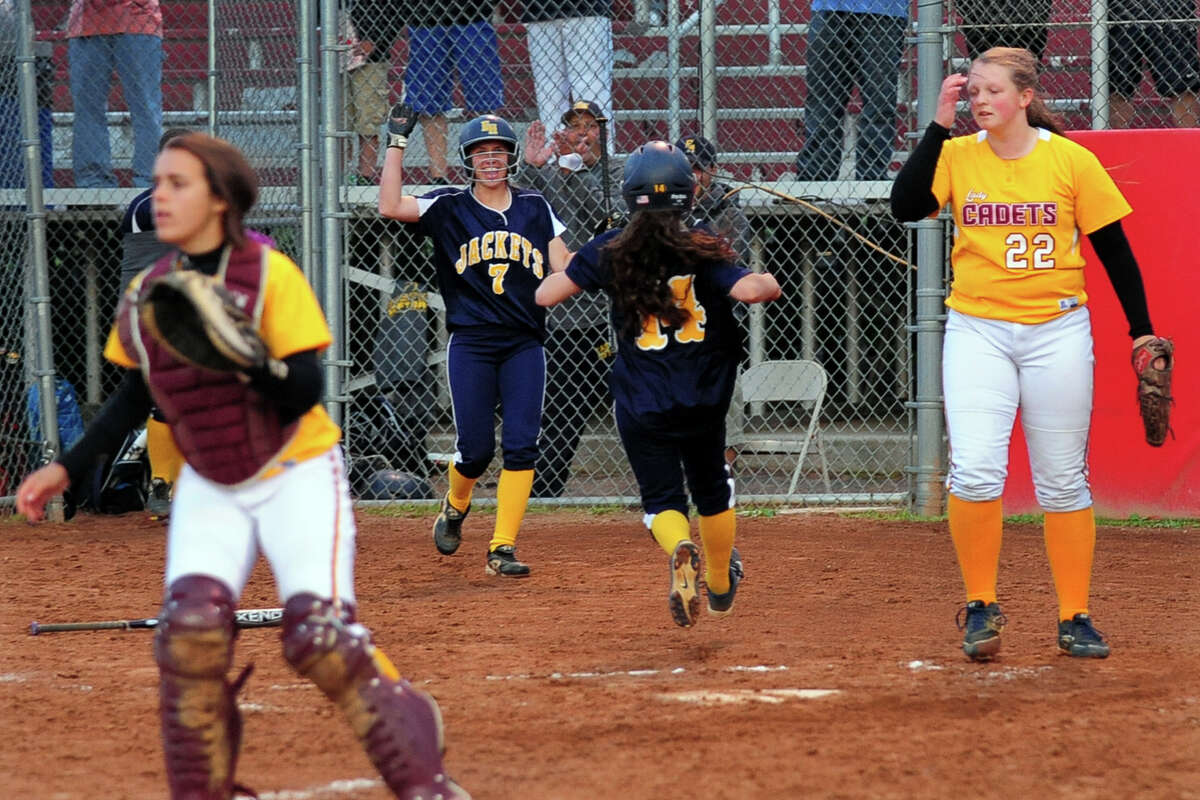 Class M softball Semi-final action between East Haven and St. Joseph in Stratford, Conn. on Tuesday June 10, 2014.