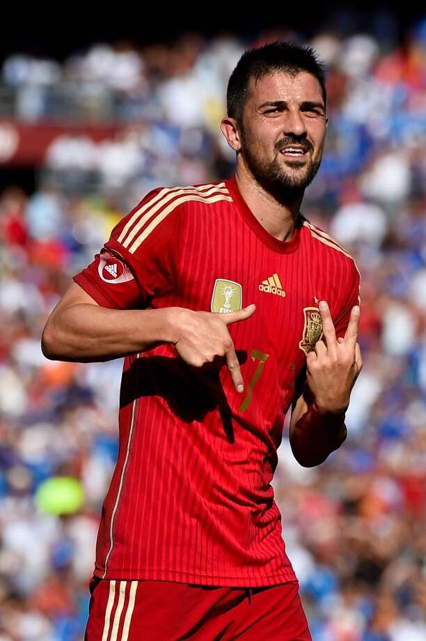 BEST: Spain home    Nice golden touches for the trophy holders. Photo: David Ramos, Getty Images