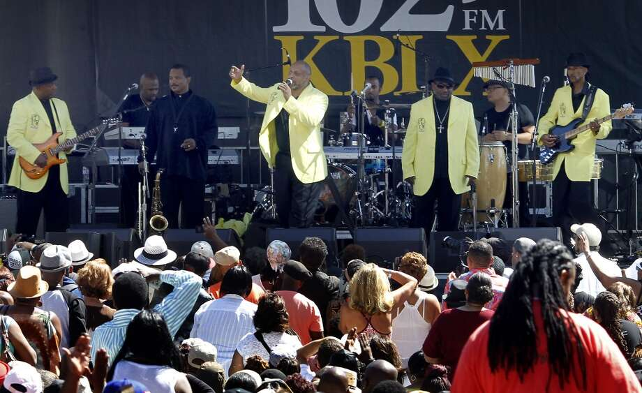 "7. CONFUNKSHUN (June 25, Alameda County Fair; July 30 Solano County Fair) The pride of Vallejo edges out Eddie Money and Night Ranger for logging the most miles traveling to local county fairs. We'll never get sick of them. The second band on the list that features a flute soloist. You'll recognize: ""Fun, Fun, Fun."" Photo: Brant Ward, The Chronicle"