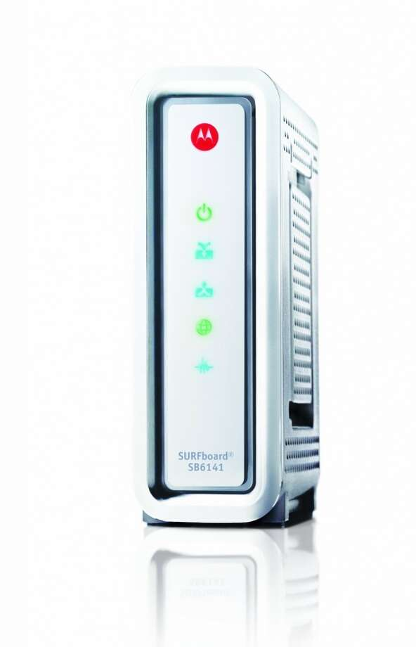 The Arris Motorola Surfboard SB6141 cable modem is approved for use on Comcast's network. Photo: Motorola