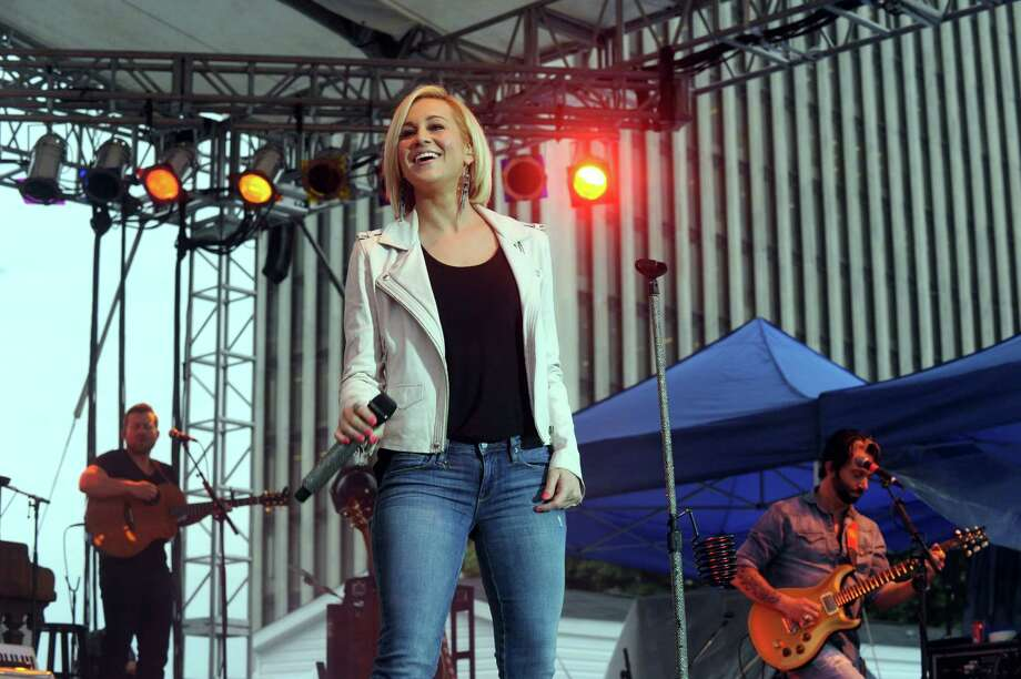Kellie Pickler performs at the Empire State Plaza on Wednesday June 11, 2014 in Albany, N.Y. (Michael P. Farrell/Times Union) Photo: Michael P. Farrell, Albany Times Union / 00027117A