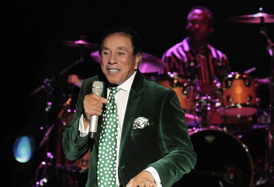 Smokey Robinson performs at Harrah's Resort on May 24, 2014 in Atlantic City, New Jersey. Photo: Donald Kravitz, Getty / 2014 Donald Kravitz