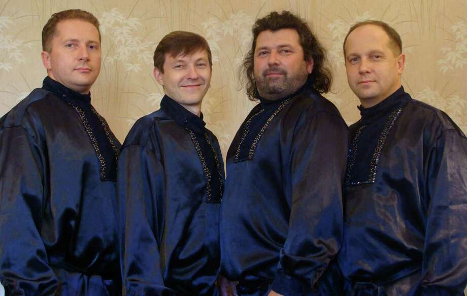 "Round Hill Community Church will present two performances of the Konevets Quartet on Sunday. The Russian quartet will perform during the 10 a.m. worship service and at 4 p.m., they will perform ""From Russia with Love,"" a special concert of  Russian sacred choral music and Russian and Ukrainian folk songs. Find out more.  Photo: Contributed Photo / Greenwich Time Contributed"