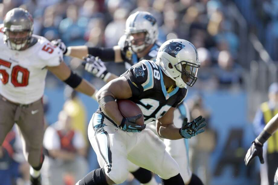 6. Jonathan Stewart | Carolina Panthers | $7,300,000 APY 2013 stats: 48 rushing attempts, 180 yards | 7 receptions, 44 yards Photo: Bob Leverone, Associated Press