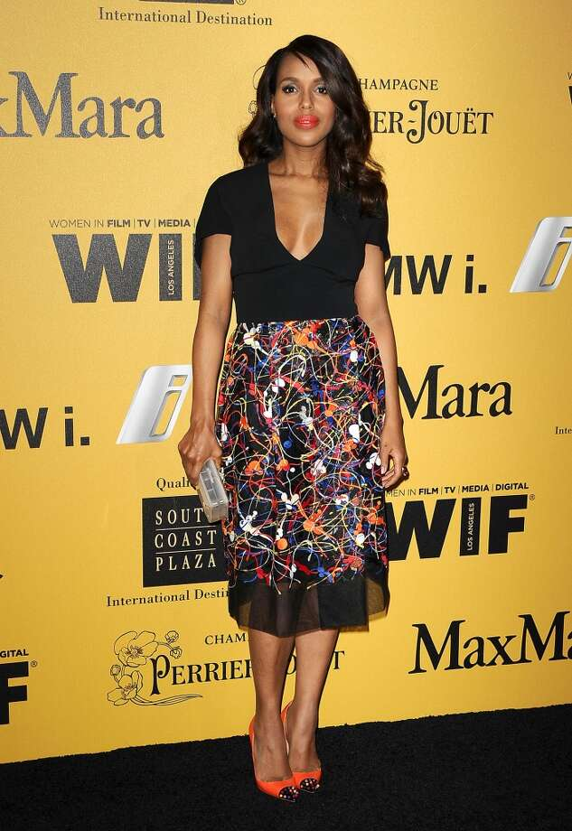 Actress Kerry Washington attends the Women In Film 2014 Crystal + Lucy Awards at the Hyatt Regency Century Plaza on June 11, 2014 in Century City, California. Photo: Jason LaVeris, FilmMagic