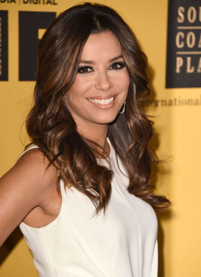 Eva Longoria arrives at the Women In Film 2014 Crystal + Lucy Awards at the Hyatt Regency Century Plaza on June 11, 2014 in Century City, California. Photo: Steve Granitz, WireImage