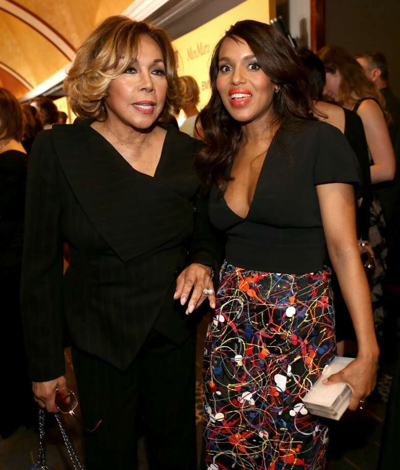 Actresses Diahann Carroll (L) and Kerry Washington attend Women In Film 2014 Crystal + Lucy Awards presented by MaxMara, BMW, Perrier-Jouet and South Coast Plaza held at the Hyatt Regency Century Plaza on June 11, 2014 in Los Angeles, California. Photo: Christopher Polk, (Credit Too Long, See Caption)