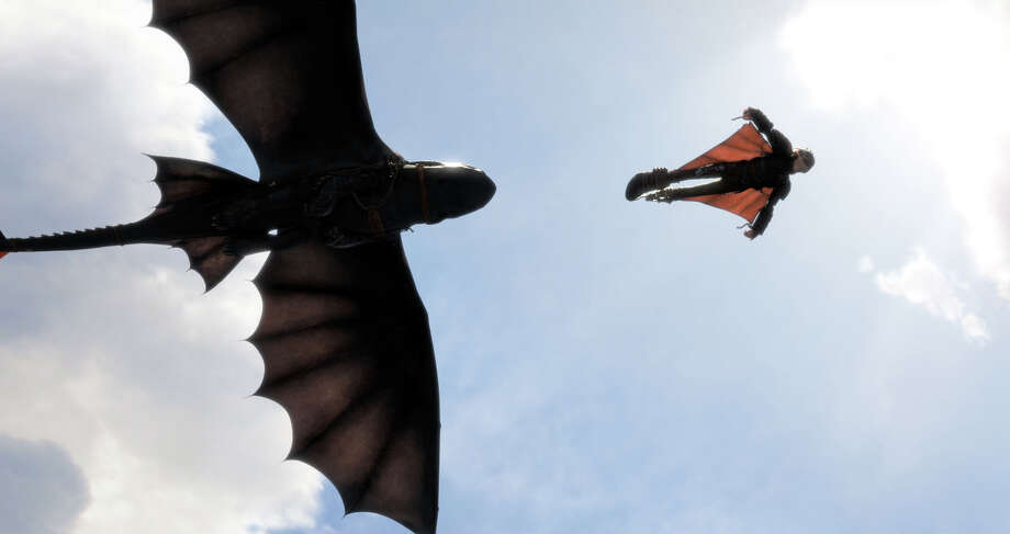 "This image released by DreamWorks Animation shows  a scene from ""How To Train Your Dragon 2."" (AP Photo/DreamWorks Animation) ORG XMIT: NYET508 Photo: DreamWorks Animation / DreamWorks Animation"