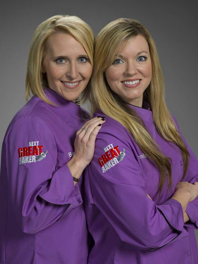 TLC s Season 4 of  Next Great Baker  kicks off on Tuesday, June 24, with a team from Tomball competing for the grand prize. Best friends Bethany Berend and Jennifer Livermore of Tomball are among the 10 teams of two to compete on the show hosted by  Cake Boss  Buddy Valestro. Photo: TLC / TLC