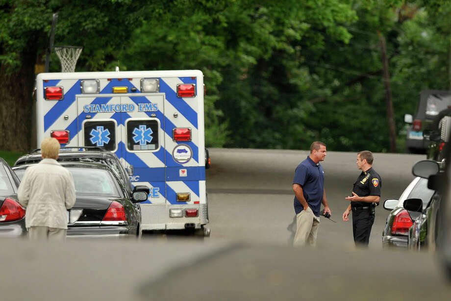 Police were called to the scene of an alleged suicide on Bellmere Avenue in Stamford, Conn., on Thursday, July 12, 2014. Photo: Jason Rearick / Stamford Advocate