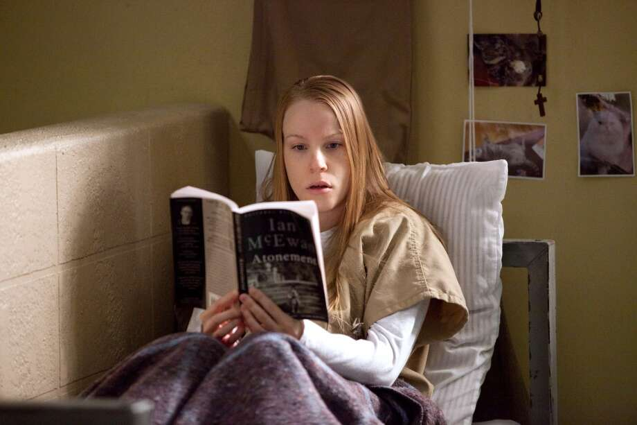 Leanne (Emma (Myles) reads Ian McEwan. Photo: Jessica Miglio