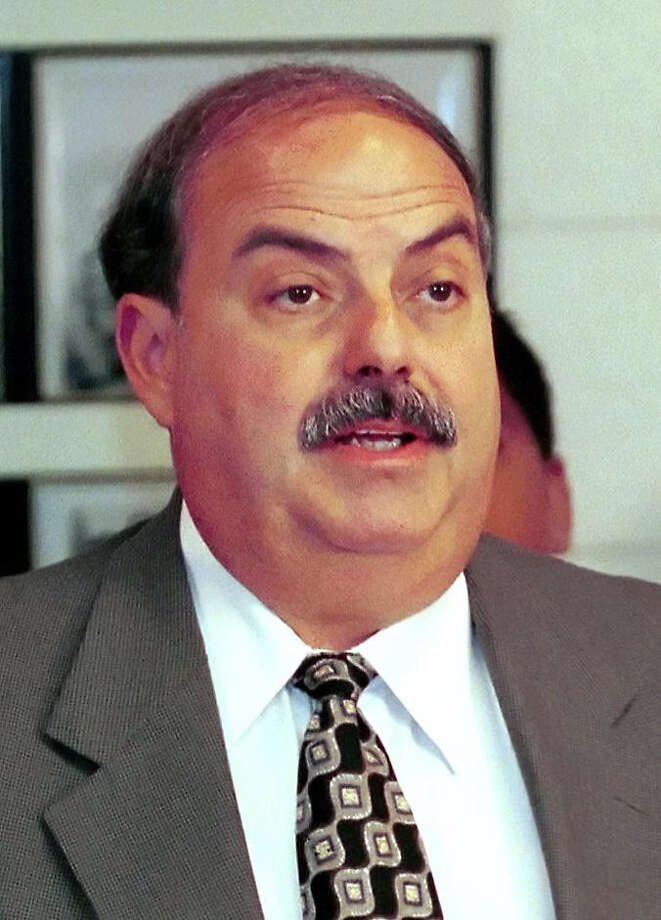 2004 FILE — At a Stamford Police news conference in 2004. Photo: ST / Stamford Advocate