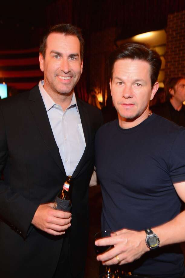 "Actors Rob Riggle (L) and Mark Wahlberg attend Spike TV's ""Guys Choice 2014"" at Sony Pictures Studios on June 7, 2014 in Culver City, California. Photo: Frazer Harrison, Getty Images For Spike TV"