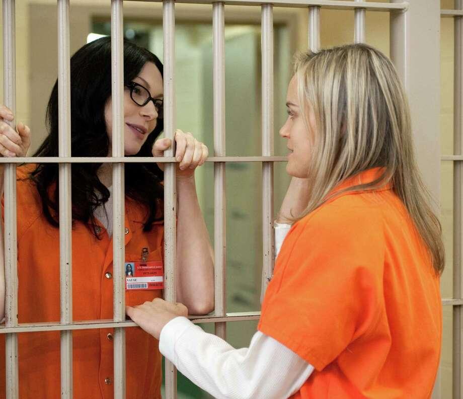 "Piper's ex Alex briefly reunites with the ""Orange is the New Black"" heroine in Season 2. Photo: JOJO WHILDEN, Netflix / San Antonio Express-News"
