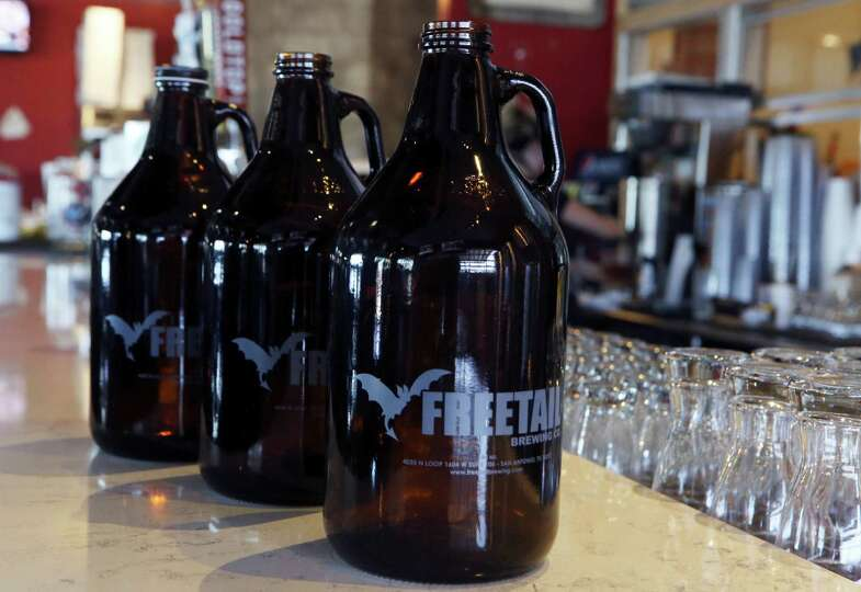 Growlers from freetail brewery growlers can be used to for Craft beer san antonio