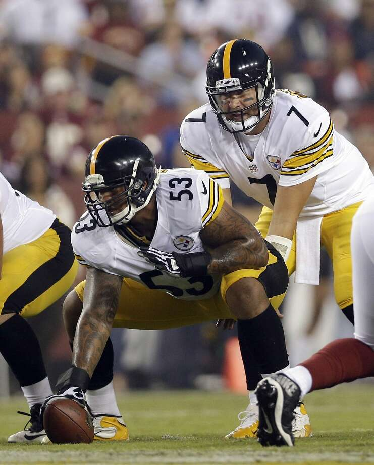 Maurkice Pouncey is key to protecting Steelers quarterback Ben Roethlisberger. Photo: Patrick Semansky, Associated Press