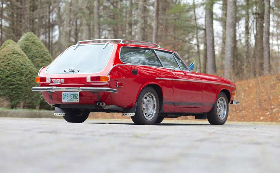 This 1973 Volvo P1800 was recently sold for nearly $100,000 at auction in Greenwich, Connect.