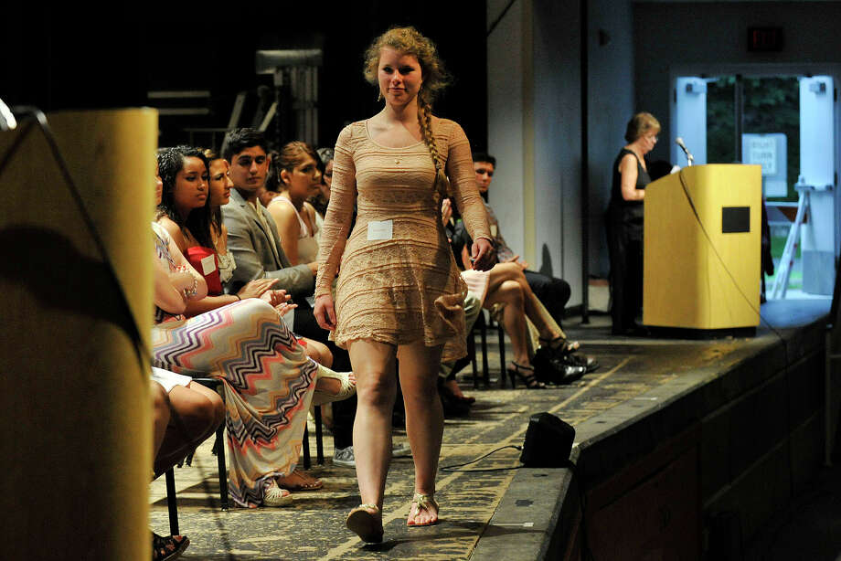Scenes from the Greenwich Scholarship Association's annual scholarship awards ceremony at Greenwich High School in Greenwich, Conn., on Thursday, June 12, 2014. Photo: Jason Rearick / Stamford Advocate