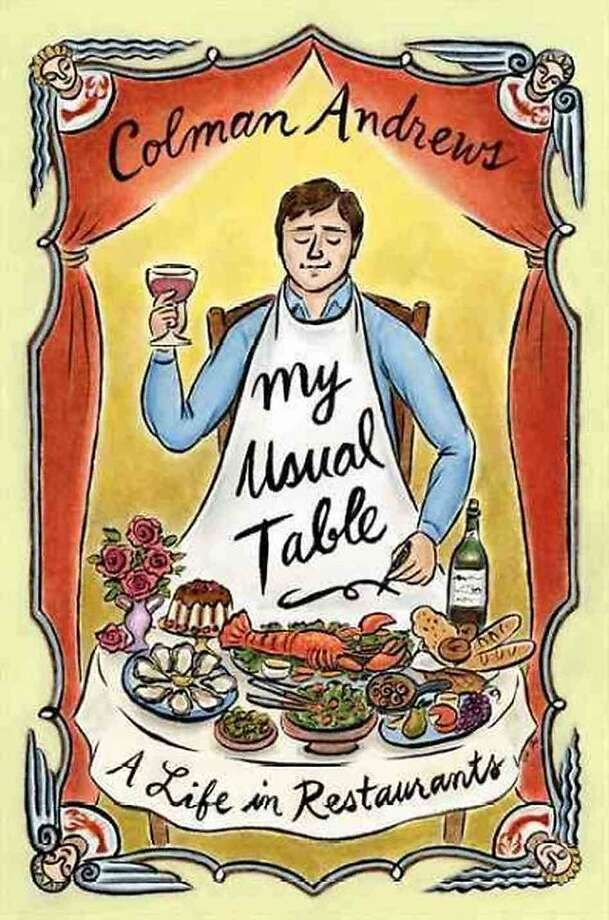 """My Usual Table"" by Colman Andrews"