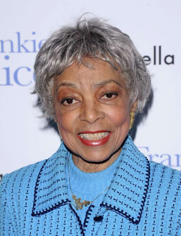 "FILE - In this Nov. 17, 2010 file photo, Ruby Dee attends a special screening of ""Frankie & Alice"" in New York. Dee, an acclaimed actor and civil rights activist whose versatile career spanned stage, radio television and film, has died at age 91, according to her daughter. Nora Davis Day told The Associated Press on Thursday, June 12, 2014, that her mother died at home at New Rochelle, New York, on Wednesday night.  (AP Photo/Peter Kramer, file) ORG XMIT: CAET883 Photo: Peter Kramer / KRAPE"