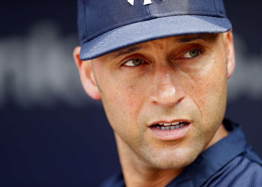 Derek Jeter is making his final regular-season visit to Oakland this weekend. Photo: Rich Schultz, Getty Images