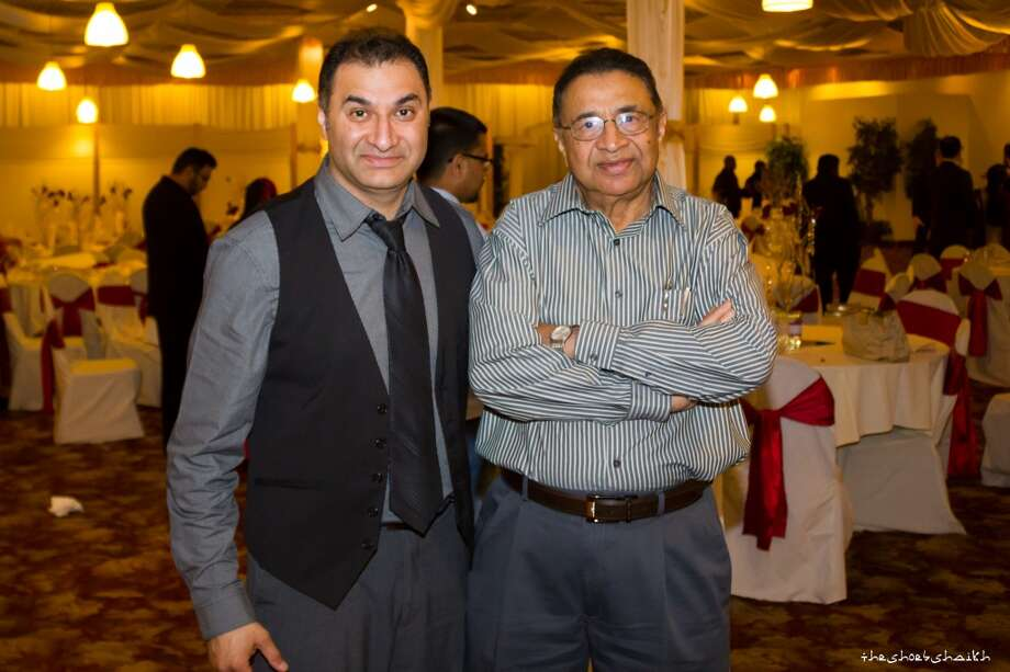 """Shoeb (son) and Siddique (father). Love my father.  He retired from the SFUSD school district after serving for over 25 years as an accountant for various schools including Lowell and Lincoln High School. He came to America with barely anything and worked hard his whole life to give his 3 kids a great education and a head start in their lives. My world would not be anything remotely blessed as it is without his efforts and love."" Photo: Submitted By Shoeb Shaikh"