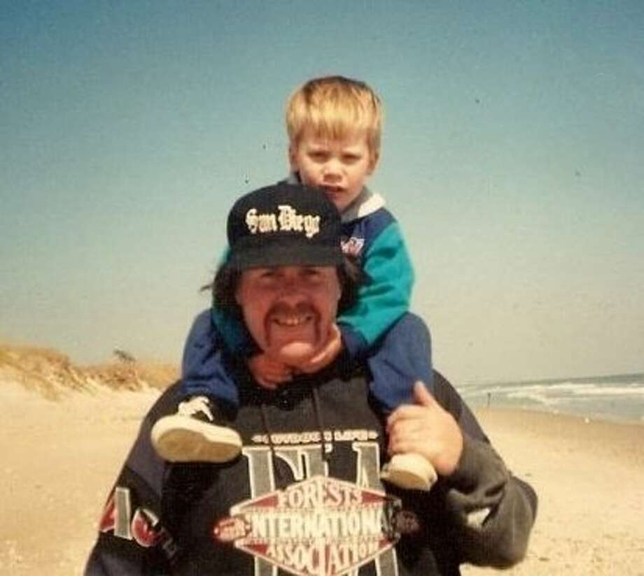 """My boy Shane and I about 18 years ago. One of my favorite pictures ever."""