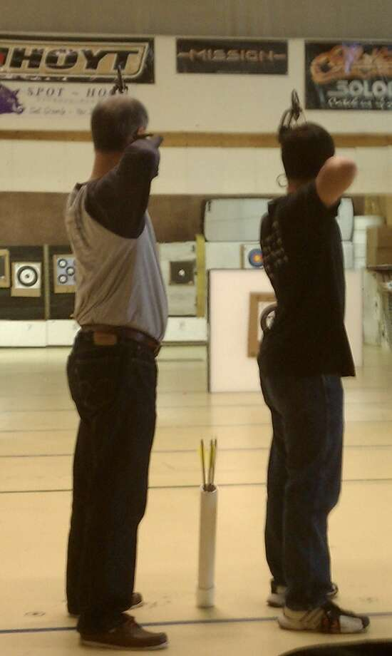 """""""At Pacifica Archery, Daly City."""" Photo: Submitted By Michi Kaifu"""