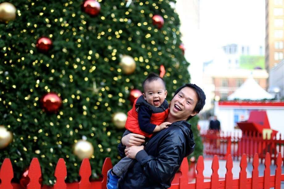 """""""Nick and baby Maddox."""" Photo: Submitted By Sharon Tran"""