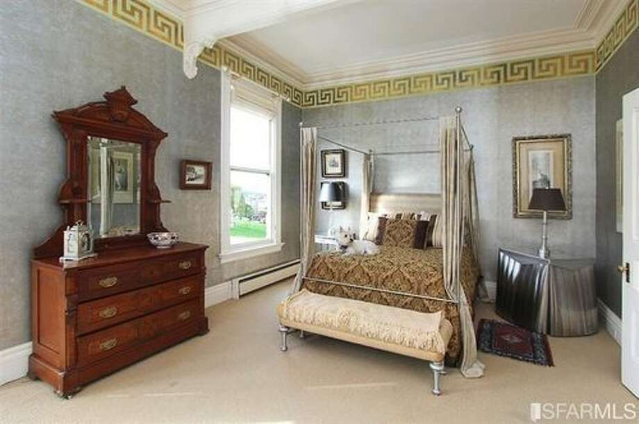 One of three large bedrooms on the second floor. Photo: SFARMLS