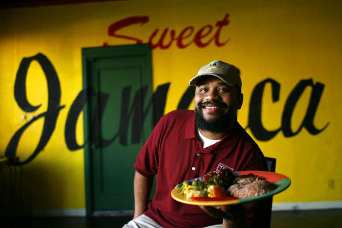 Reggae Hut, 4814 Almeda, has Caribbean Island cooking.