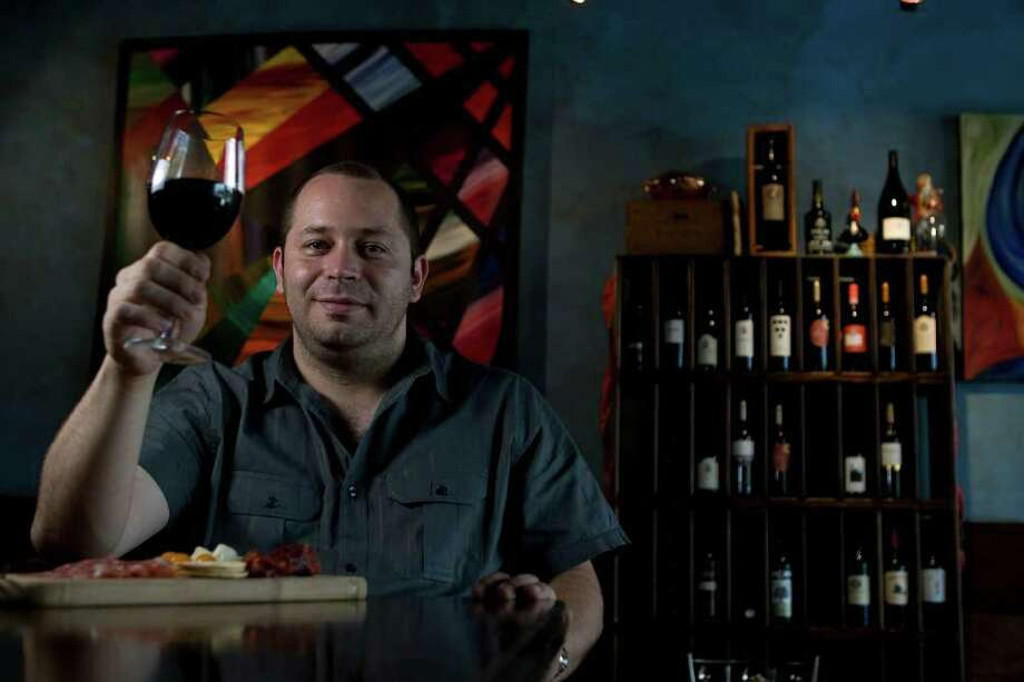 Oporto owner and chef Rick DiVirgilio knows his wines and food. Photo: James Nielsen / Houston Chronicle