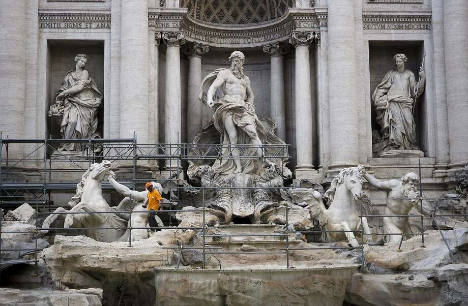 All those hurled coins have taken a toll: The Fendi fashion house is financing a $2.8-million restoration of Rome's Trevi Fountain, famed as a setting 