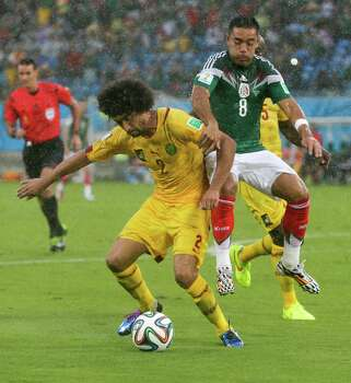 June 13Mexico 1, Cameroon 0 Photo: Petr David Josek, Associated Press / AP