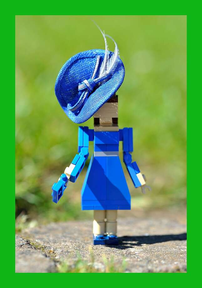 LEGO Kate: At a LEGO Buckingham Palace in Windsor, one can find a LEGO Duchess of Cambridge wearing a designer hats by Rachel Trevor-Morgan, the queen's milliner. Photo: Gareth Cattermole, Getty Images