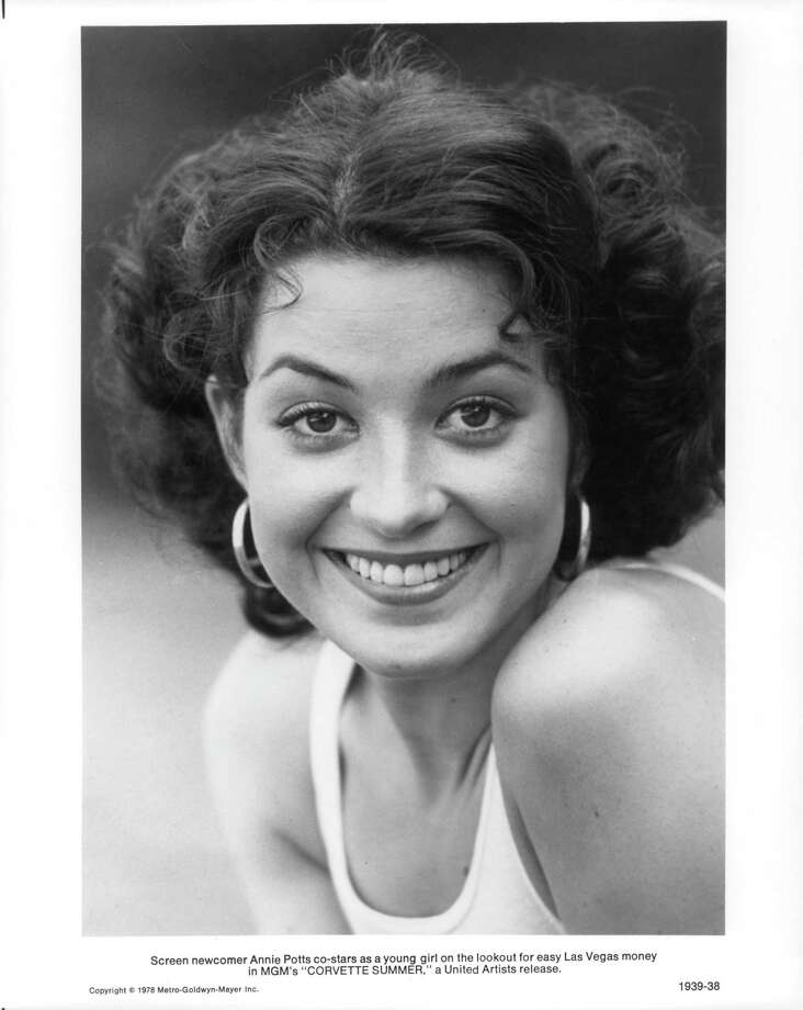 "Annie Potts -- Janine Melnitz -- got her film debut in 1978's ""Corvette Summer"" (pictured) with Mark Hamill. Photo: Michael Ochs Archives, Getty / 2011 Getty Images"